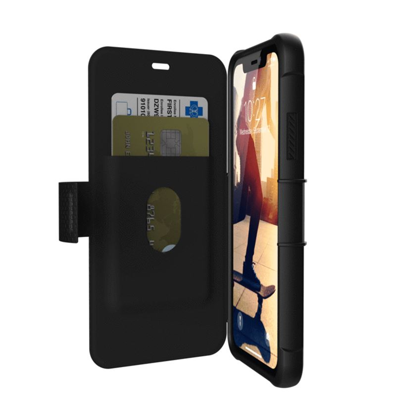 UAG Metropolis case Black, black - iPhone XR