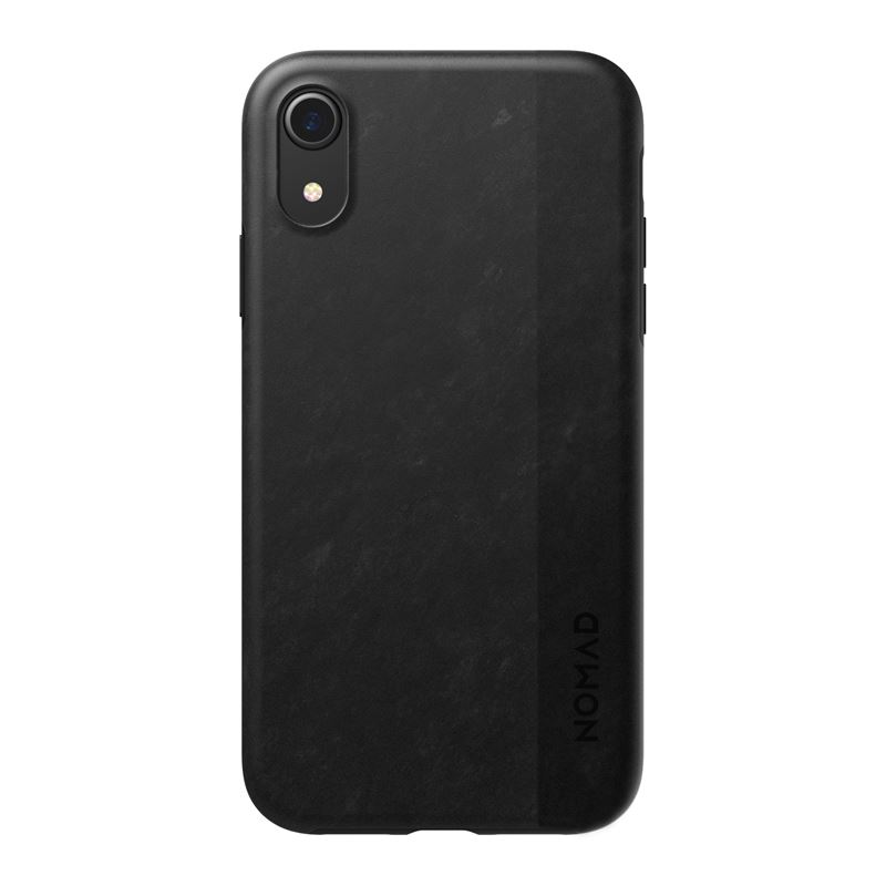Nomad Carbon case, black - iPhone XR