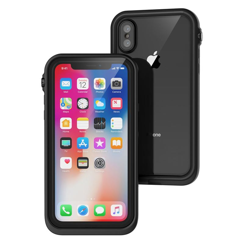 Catalyst Waterproof case, black - iPhone X