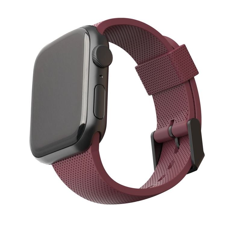 UAG U Silicone Strap, aubergine - A.Watch 44/42 mm