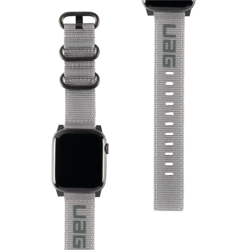 UAG Nato Strap, grey - Apple Watch 44/42 mm