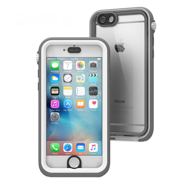 Catalyst Waterproof case, white gray - iPhone 6/6s
