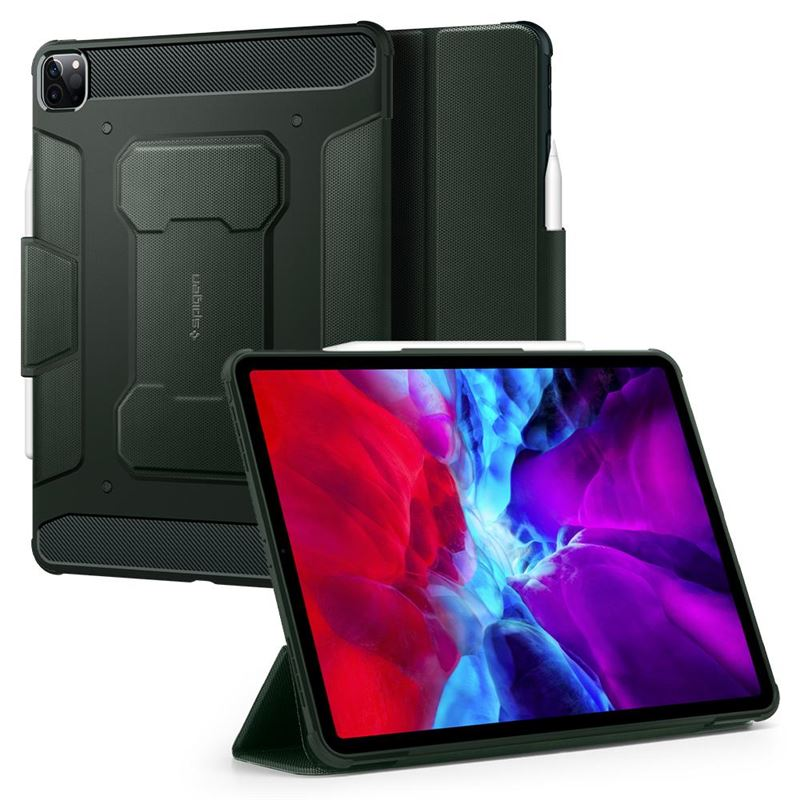 "Spigen Rugged Armor, green - iPad Pro 12.9"" 20/18"