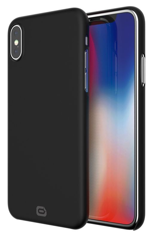 Odzu Crystal Thin Case, black - iPhone X