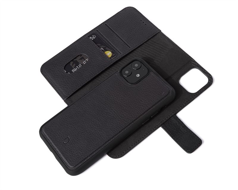 Decoded Leather Wallet, black - iPhone 11