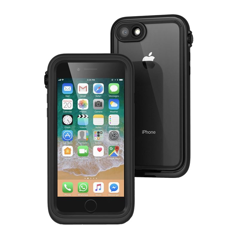 Catalyst Waterproof case, black - iPhone 8/7