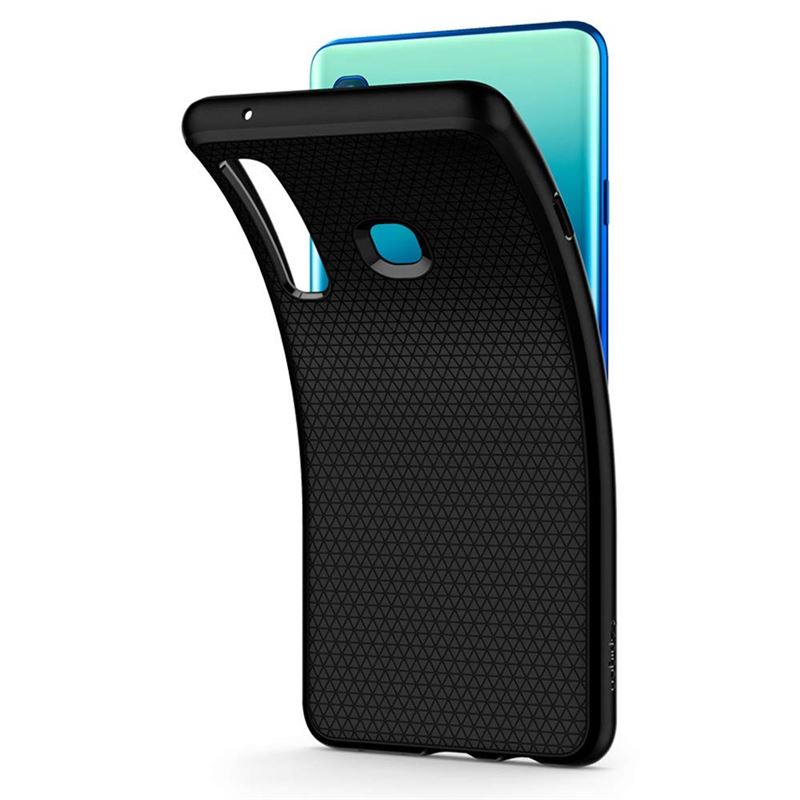 Spigen Rugged Armor, black - Galaxy A9 2018
