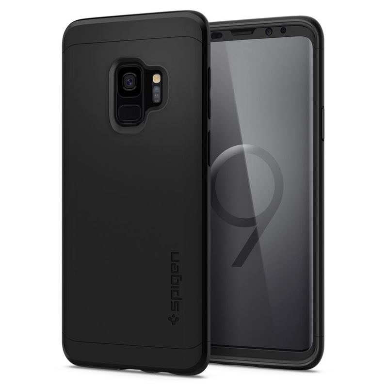 Spigen Thin Fit 360, black - Galaxy S9
