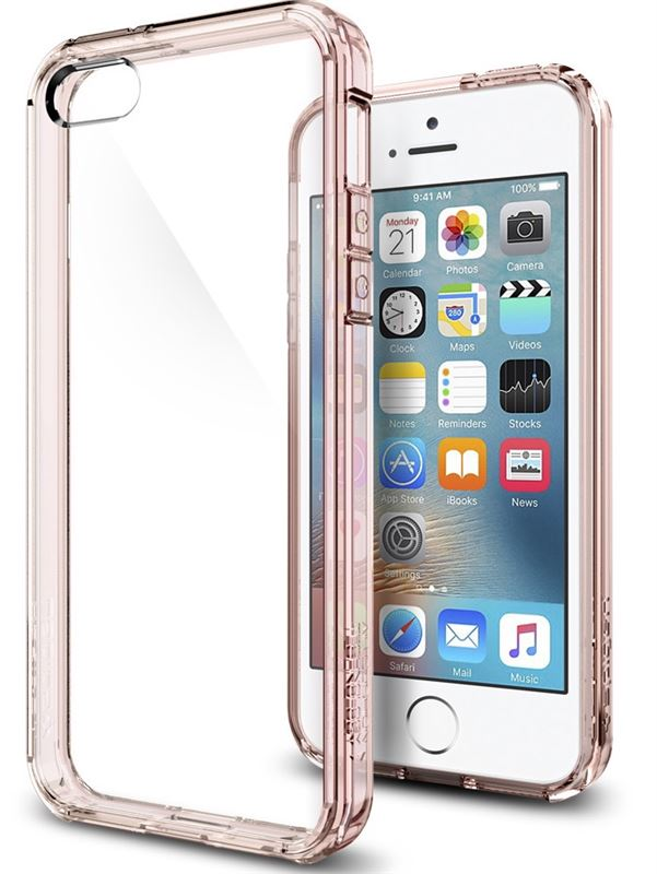 Spigen Ultra Hybrid, rose crystal - iPhone SE/5s/5