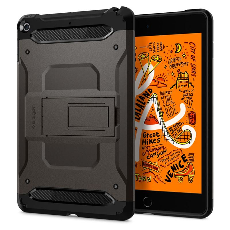 Spigen Tough Armor TECH, gunmetal - iPad mini 5 19