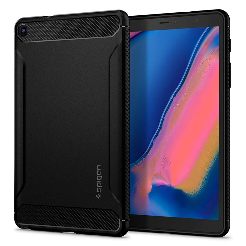 Spigen Rugged Armor, black - Galaxy Tab A 8.0 2019