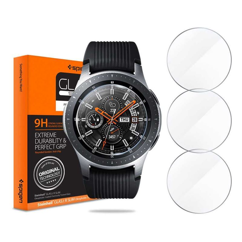 Spigen Glas.tR SLIM 3 Pack - Galaxy Watch 46mm