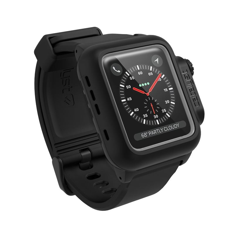 Catalyst Waterproof case, black - AW 3/2 42mm