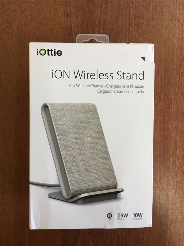 iOttie iON Wireless Stand Ivory, tan