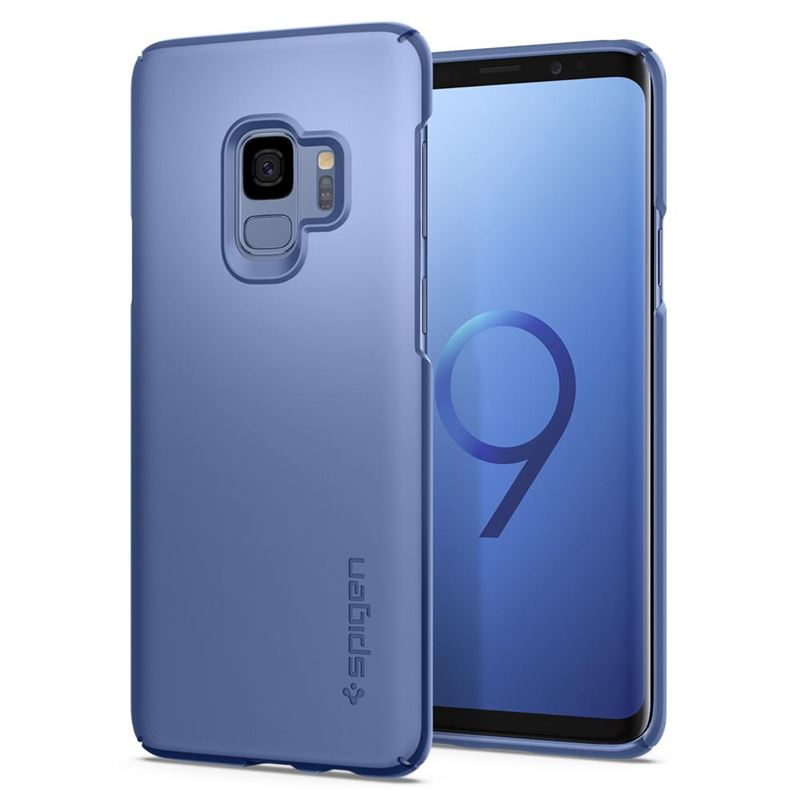 Spigen Thin Fit, coral blue - Galaxy S9