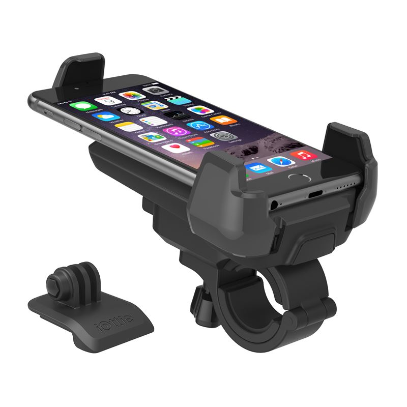 iOttie Active Edge Bike Mount, black + GoPro adap.