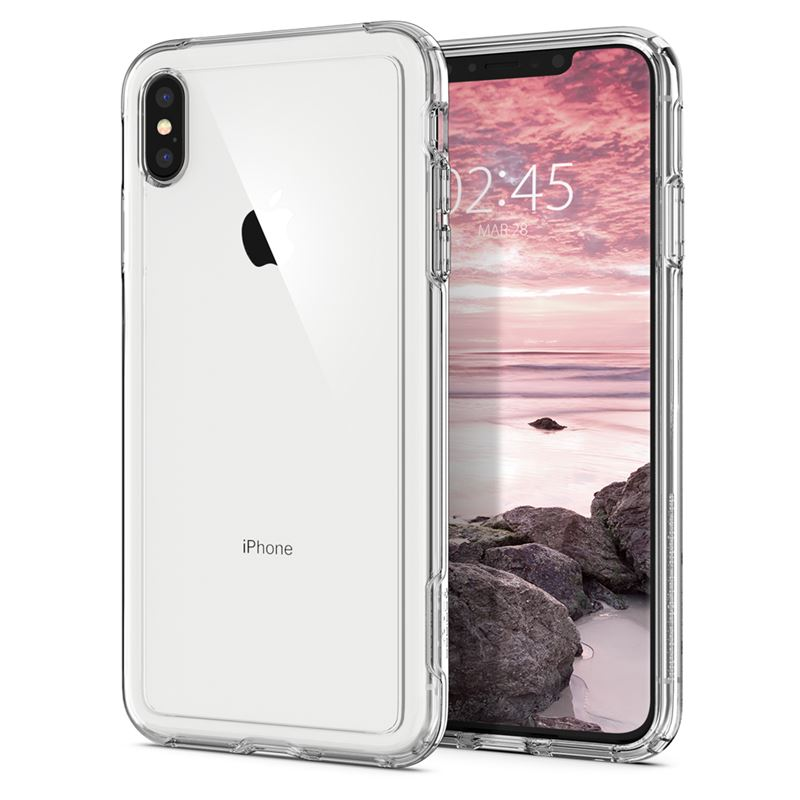Spigen Crystal Hybrid, clear - iPhone XS Max