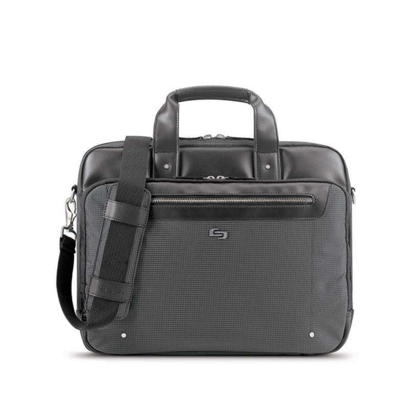 "Solo Park Briefcase, gray - 15.6"""