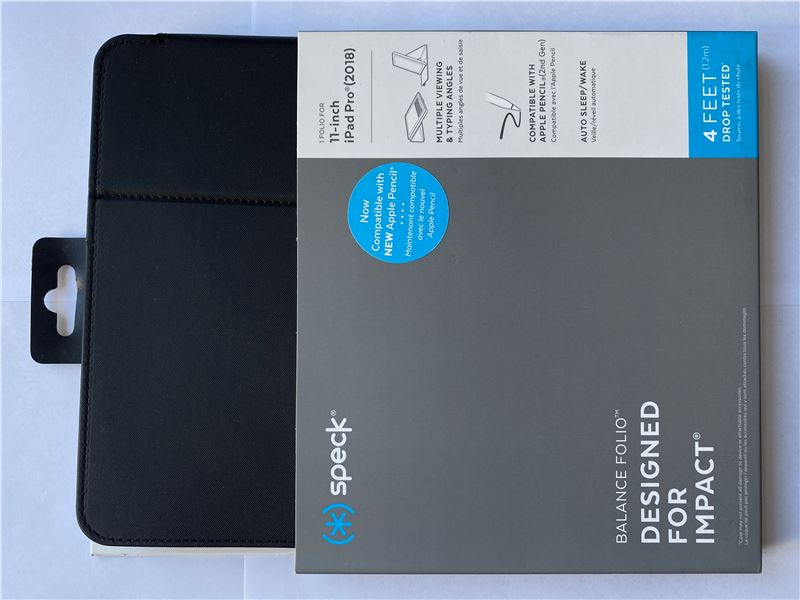 "Speck Balance Folio, black/black - iPad Pro 11"""