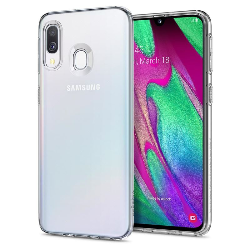 Spigen Liquid Crystal, clear - Galaxy A40
