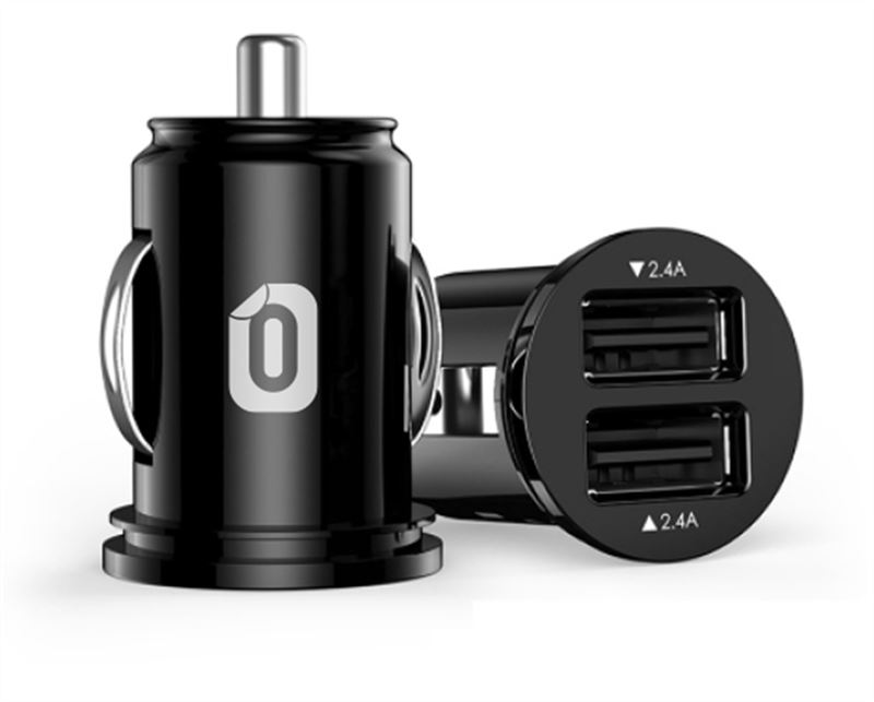 Odzu Car Charger Mini, black