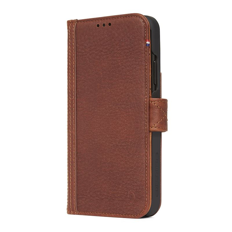 Decoded Leather Card Wallet, brown - iPhone XR