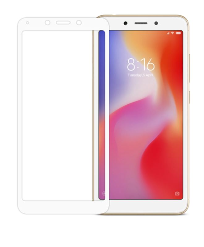Odzu Glass Screen Protector E2E White - X Redmi 6A