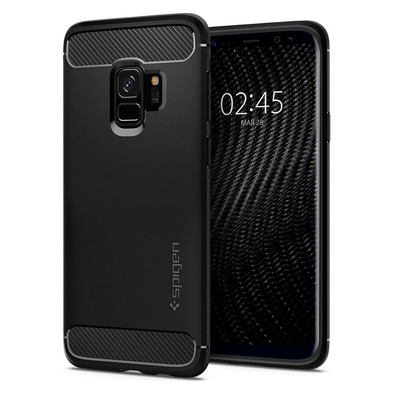 Spigen Rugged Armor, black - Galaxy S9