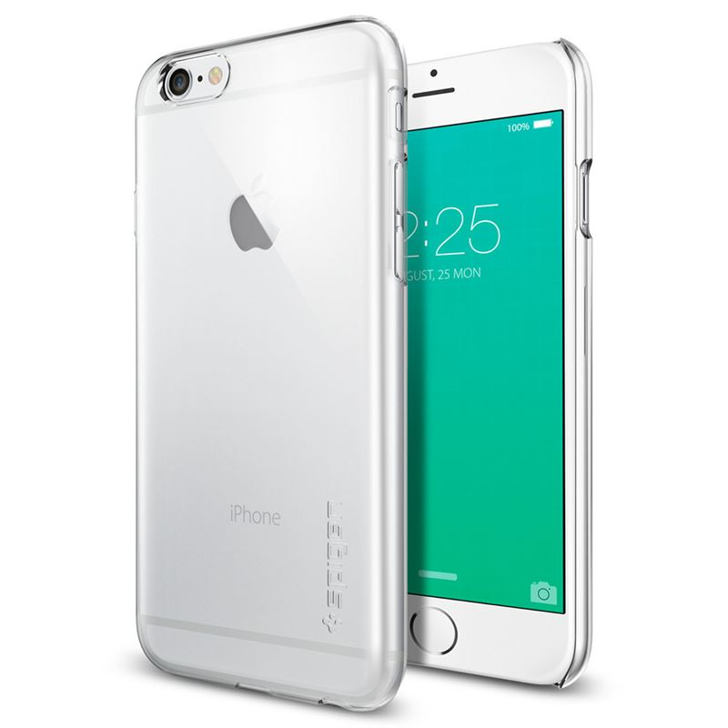 Spigen Thin Fit, crystal clear - iPhone 6s/6