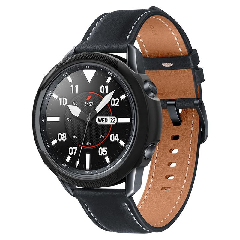 Spigen Liquid Air, black - Galaxy Watch 3 45mm