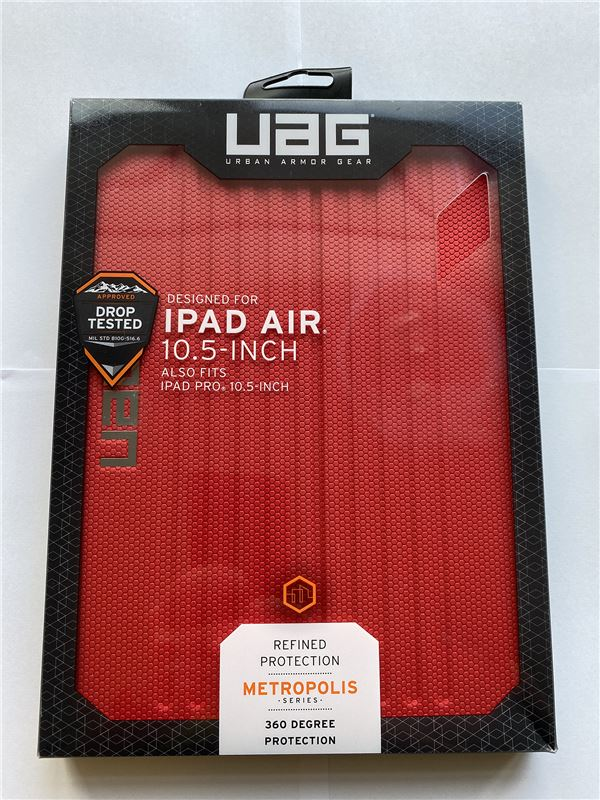 UAG Metropolis case, red - iPad Air 19/Pro 10.5""