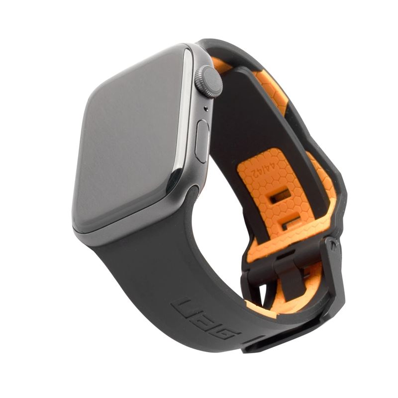 UAG Civilian Strap, black/orange -A.Watch 44/42 mm