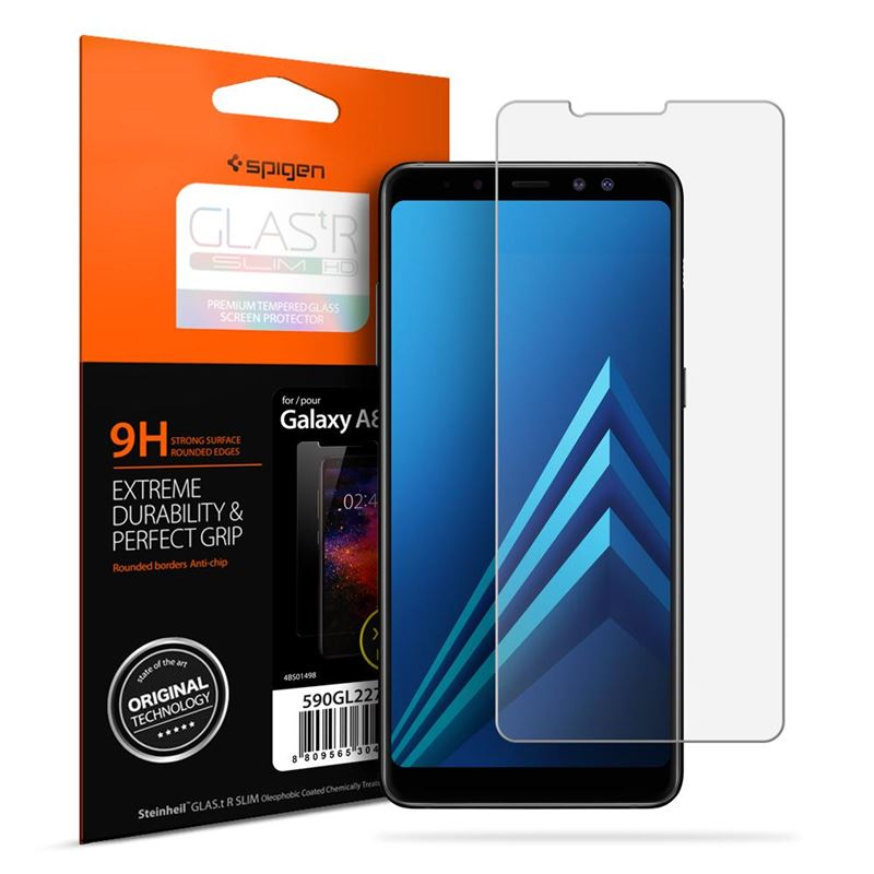 Spigen Glas.tR SLIM HD - Galaxy A8(2018)