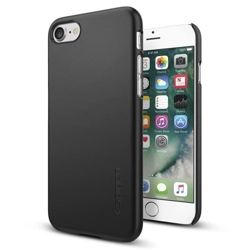 Spigen Thin Fit, black - iPhone 7