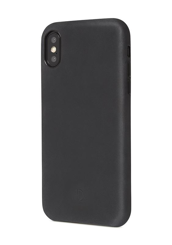 Decoded Leather Case, black - iPhone XS Max