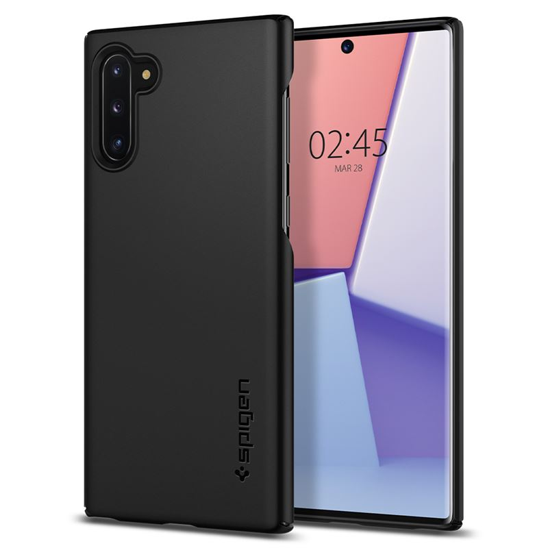 Spigen Thin Fit, black - Galaxy Note 10