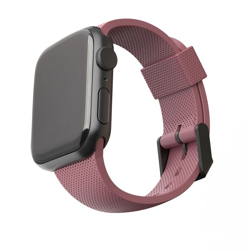 UAG U Silicone Strap, rose - Apple Watch 44/42 mm