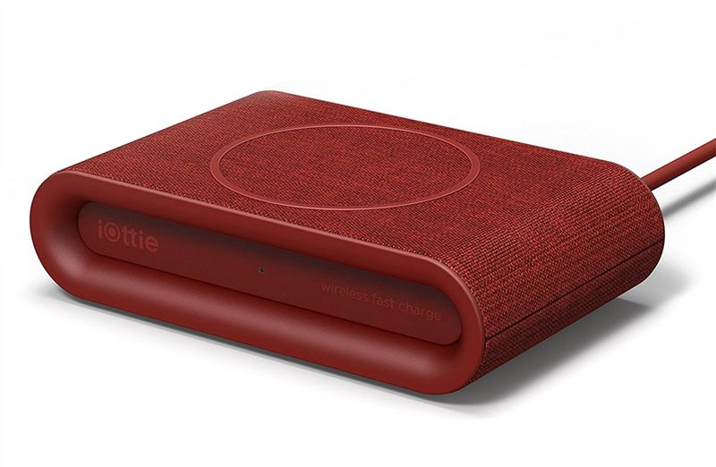 iOttie iON Wireless Pad Plus Ruby, red