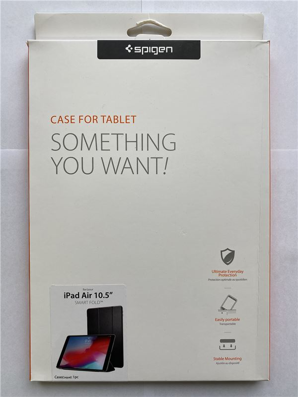 Spigen Smart Fold Case, black - iPad Air 10.5""