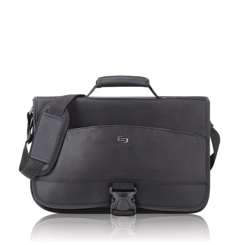 Solo Conquer Messenger Bag, black - 15.6""