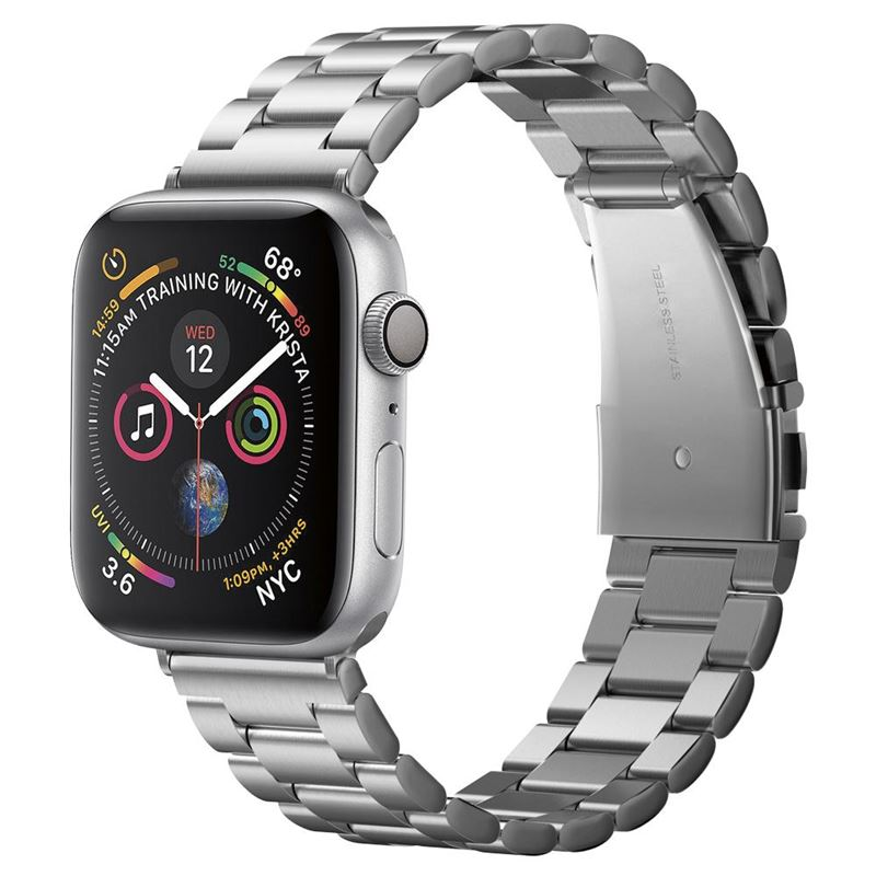 Spigen Modern Fit, silver - Apple Watch 44/42 mm
