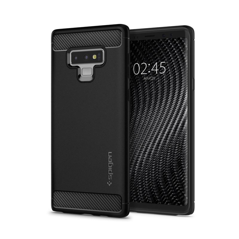 Spigen Rugged Armor, black - Galaxy Note 9