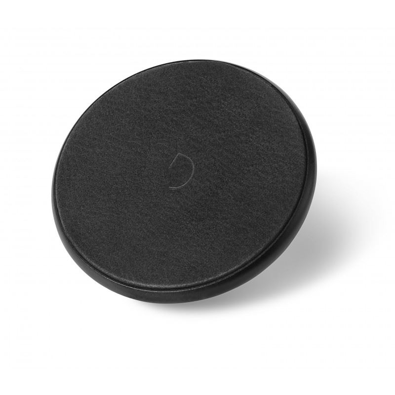 Decoded Leather Qi Wireless Charger, black