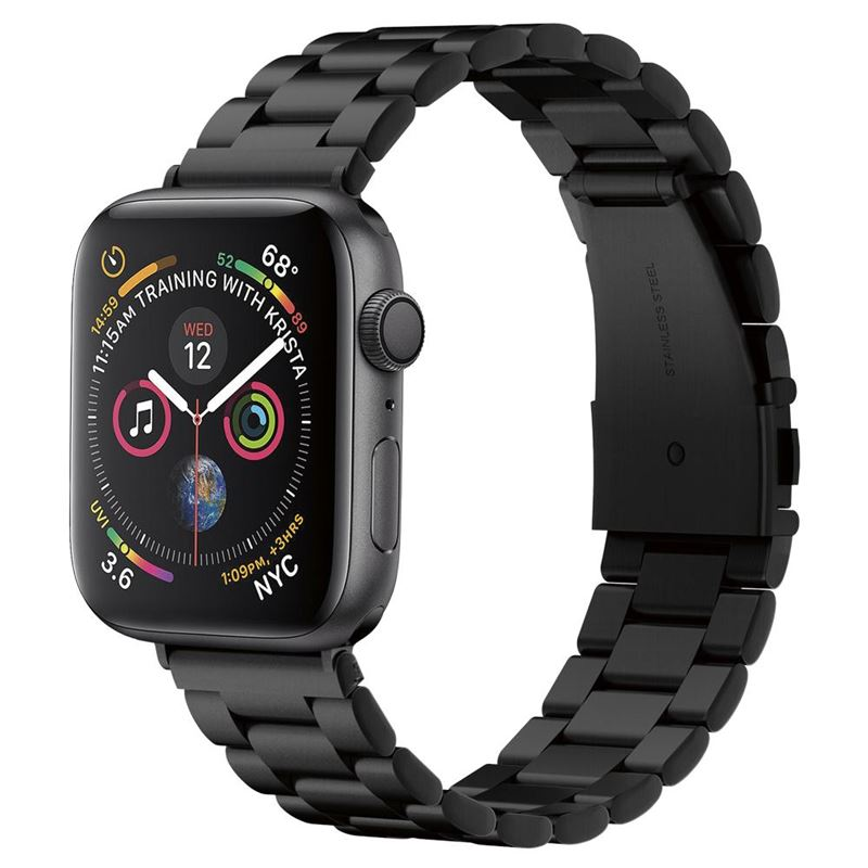 Spigen Modern Fit, black - Apple Watch 44/42 mm