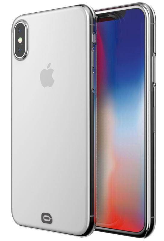 Odzu Crystal Thin Case, clear - iPhone X