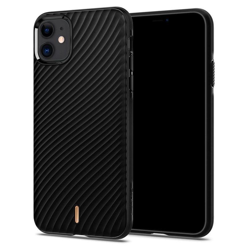 Spigen Ciel Wave Shell, black - iPhone 11