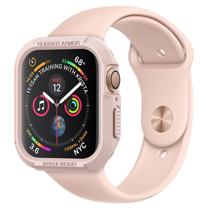 Spigen Rugged Armor, r. gold - Apple Watch 4 40mm
