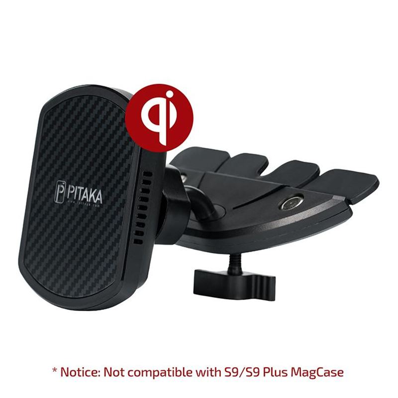 Pitaka MagMount Qi Pro Wireless CD Slot Mount