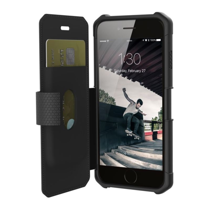 UAG metropolis case Black, black - iPhone 8/7/6s
