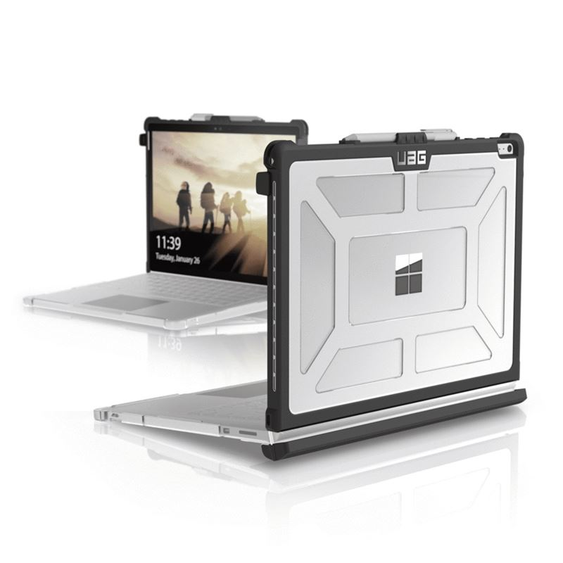 UAG Plasma case Ice, clear - Surface Book (2)